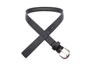 AF-044 Boys black leather fashion belt