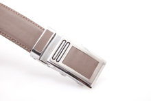 F-332 Mens Nice Quality PU Belt with A Automatic Buckle with Clip