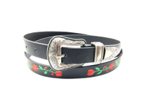 The fashion 2017 belt with silver personalized buckle AFL71053