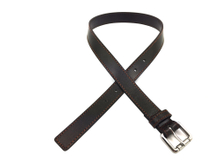 AF-042 Boys black leather fashion belt