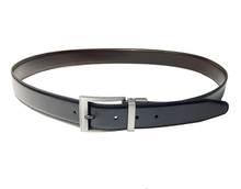 AF-146 Mens black pu formal belt with buckle