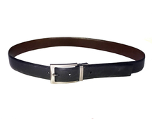 AF-161 Mens leather formal belt with buckle